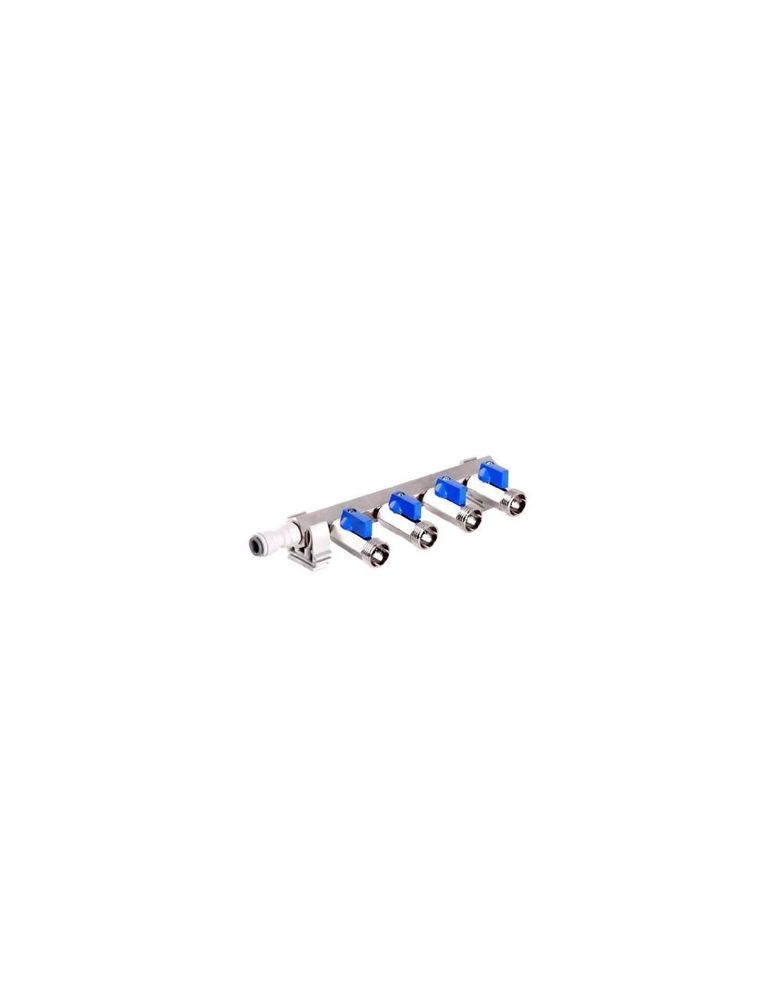 VYR02254 - Förgrening med 4 anslutningar och avstängningskranar