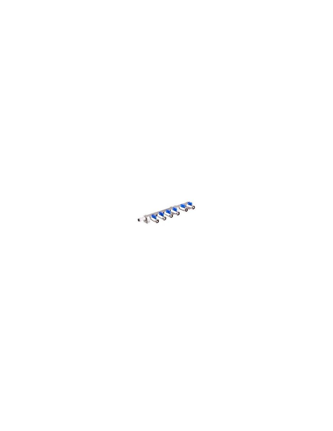 VYR02255 - Förgrening med 6 anslutningar och avstängningskranar