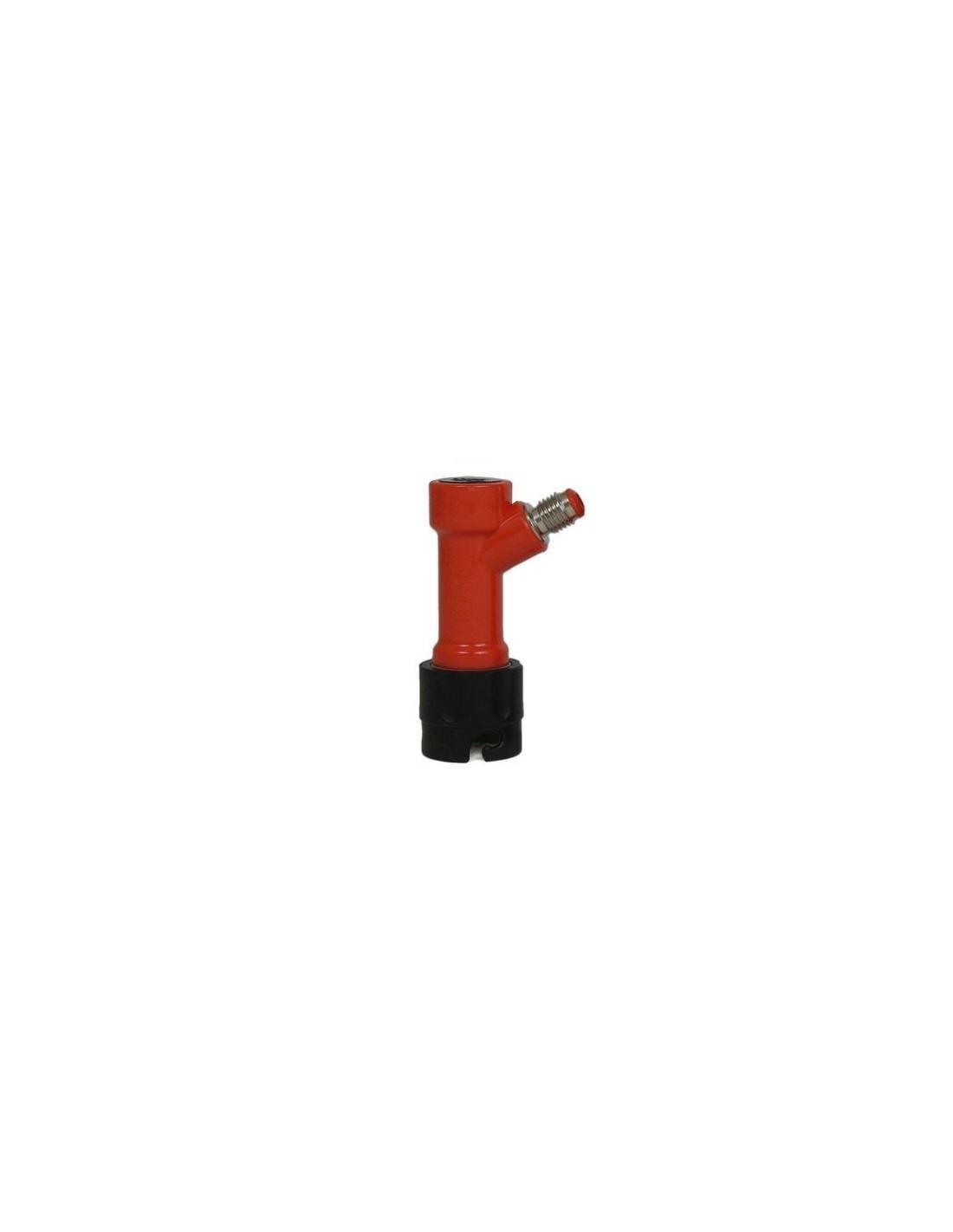 "UPP00025 - Pin lock beverage disconnect for Cornelius kegs with 7/16"" thread"