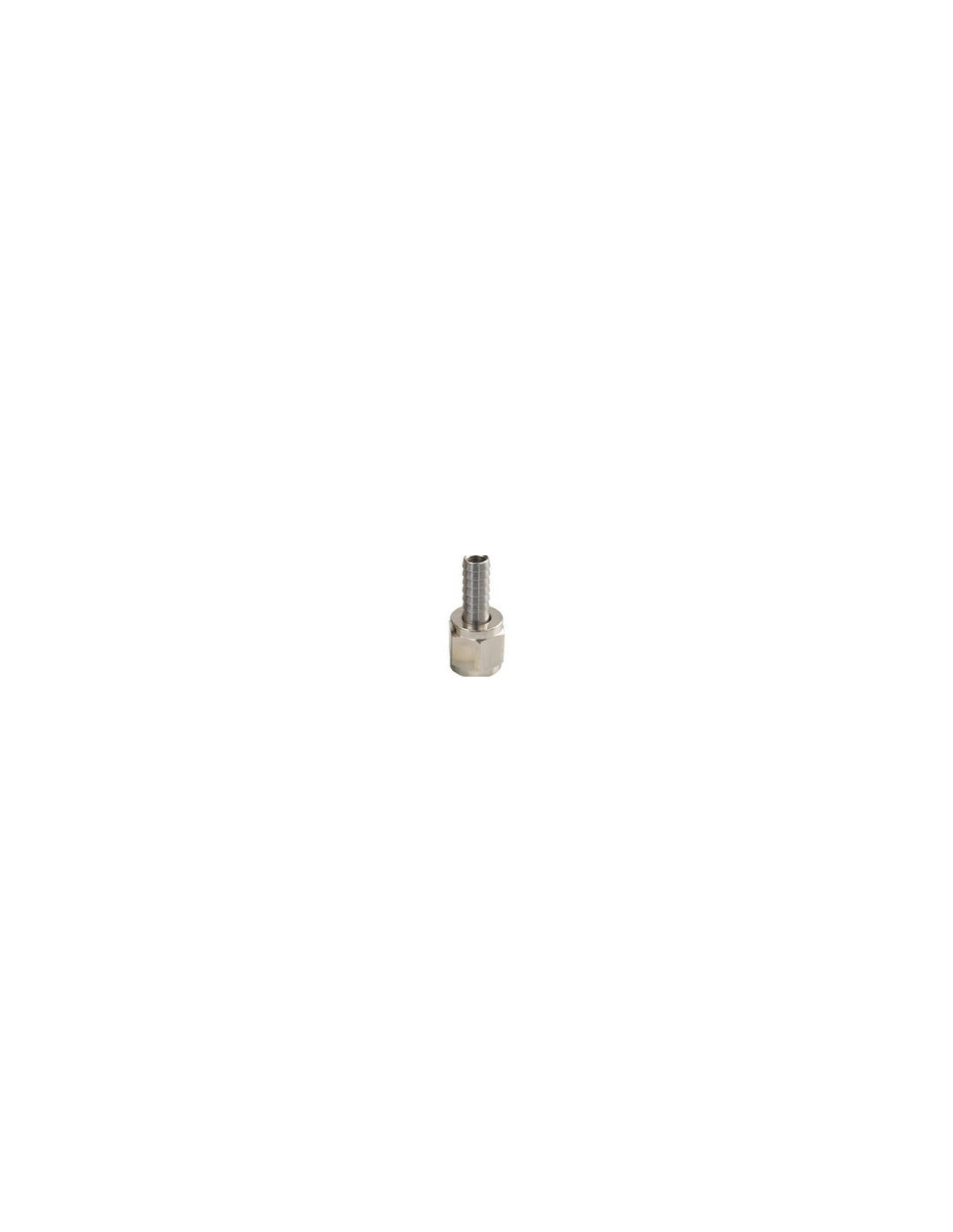 "UPP00028 - 7/16"" mutter + rak 8 mm nippel"