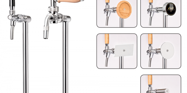 180520 - Tapptornet Tube - a stylish beer tower suitable both in the restaurant and at home